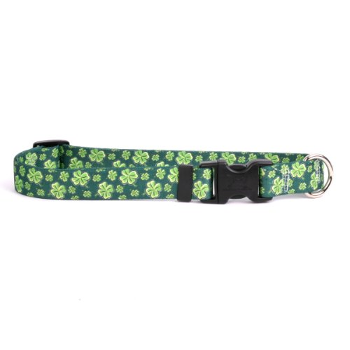 - Yellow Dog Design 4 Leaf Clover Break Away Cat Collar, One Size Fits All