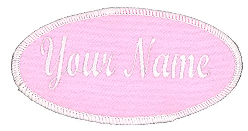 - Oval Name Patch, Uniform or Work Shirt, Personalized, Embroidered