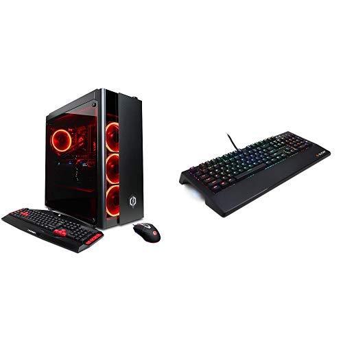 CYBERPOWERPC Gamer Xtreme VR Gaming PC Desktop GXiVR8080A2 w/Liquid Cooled Overclockable Intel i7-8700K 3.7GHz CPU, 16GB DDR4, NVIDIA GTX 1080 Ti 11GB, 240GB SSD, 1TB HDD & Win10 64-Bit