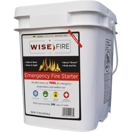 Emergency Fire Starter Ideal Source Of Fuel For Emergency Preparedness And Outdoor Use, 13.1 lbs