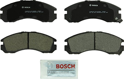 Price comparison product image Bosch BC530 QuietCast Premium Ceramic Front Disc Brake Pad Set