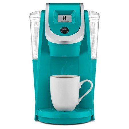 Keurig 2.0 K200 Plus Series Single Serve Plus Coffee Maker Brewer (Newest Model) Turquoise (Turquoise Cup Coffee)