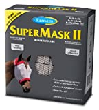 Central Garden & Pet 100526863 SuperMask II Horse Fly Mask, No Ears, Yearling - Quantity 12