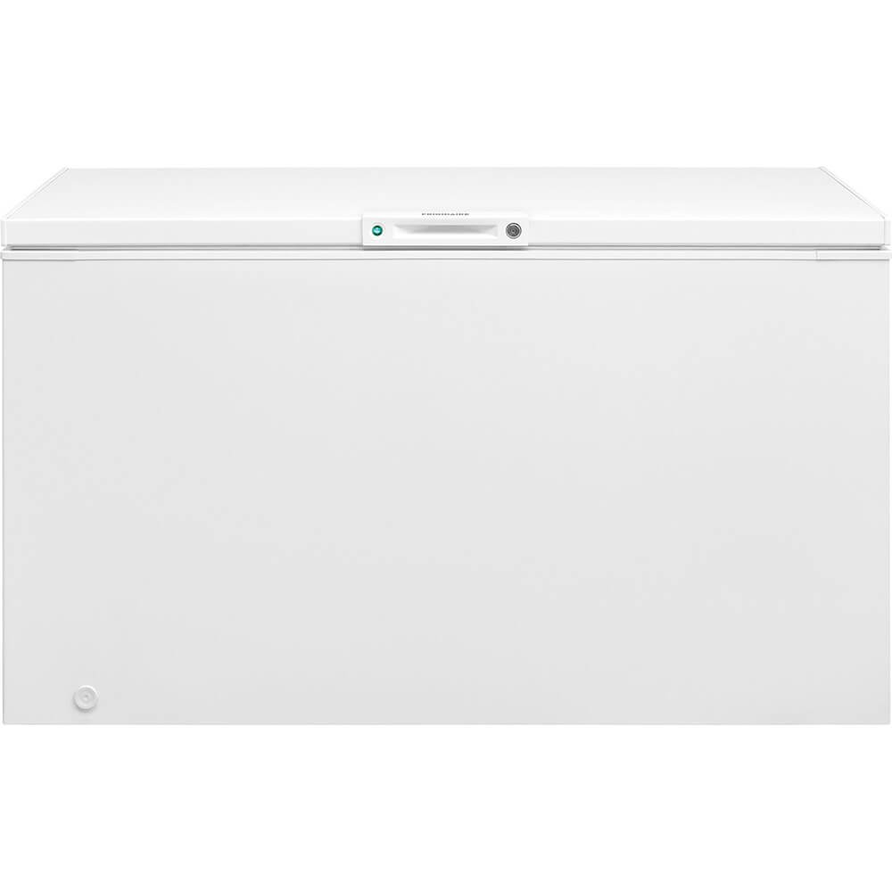 Frigidaire FFFC15M4TW 56 Inch Freezer with 14.8 cu. ft. Capacity, Manual Defrost, CSA Certified in White