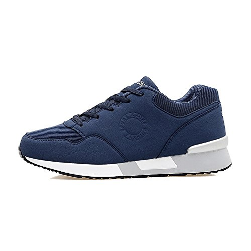 Casual Running Scarpa da Scarpe Muffin da Atletica Sneaker Cricket Uomo da con Stile Blu Fondo e Spesso con Nuovo Alta da Donna da e H0dwTqRd