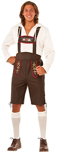 [Rubie's Men's Beer Garden Man Costume, Multi, One Size] (Festival Costume For Men)