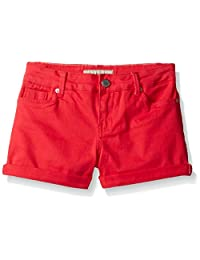 Calvin Klein Pantalones Cortos de Mezclilla enrollables de Color para niñas