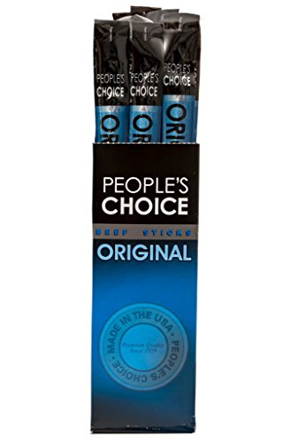 People's Choice Beef Jerky - Classic - Original Beef Stick - Gourmet Handmade Craft Meat Snack - 1.2 Ounce Stick (24 (American Classic Sticks)