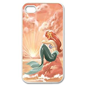 SUUER Little Mermaid Personalized Custom Plastic Hard CASE for iPhone 5 5s Durable Case Cover
