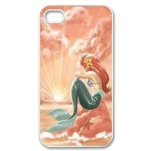 SUUER Little Mermaid Personalized Custom Plastic Hard CASE for iPhone 6 plus Durable Case Cover