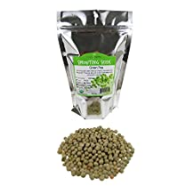 Green Pea Sprouting Seed- Organic- 1 Lb - Dried Green Peas for Sprouting Sprouts, Garden Planting, Cooking, Soup, Food Storage, Hydroponics, Vegetable Gardening