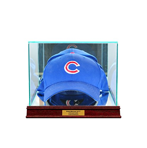 Case Hat Cap Display (Perfect Cases Cap/Hat Display Case with Engraving and Conservation Glass (99% UV))