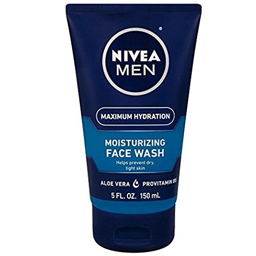 NIVEA FOR MEN Original Moisturizing Face Wash 5 oz (Pack of 3) (Wash Moisturizing Men Face)