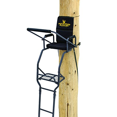 (Rivers Edge RE647 One Man Deluxe Ladder Stand)