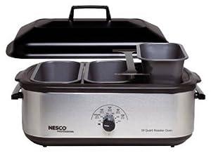 Englewood Marketing Group 4908-12-40PR Buffet Serving Set for Nesco 18-Qt. Roasters, 5-Pcs.