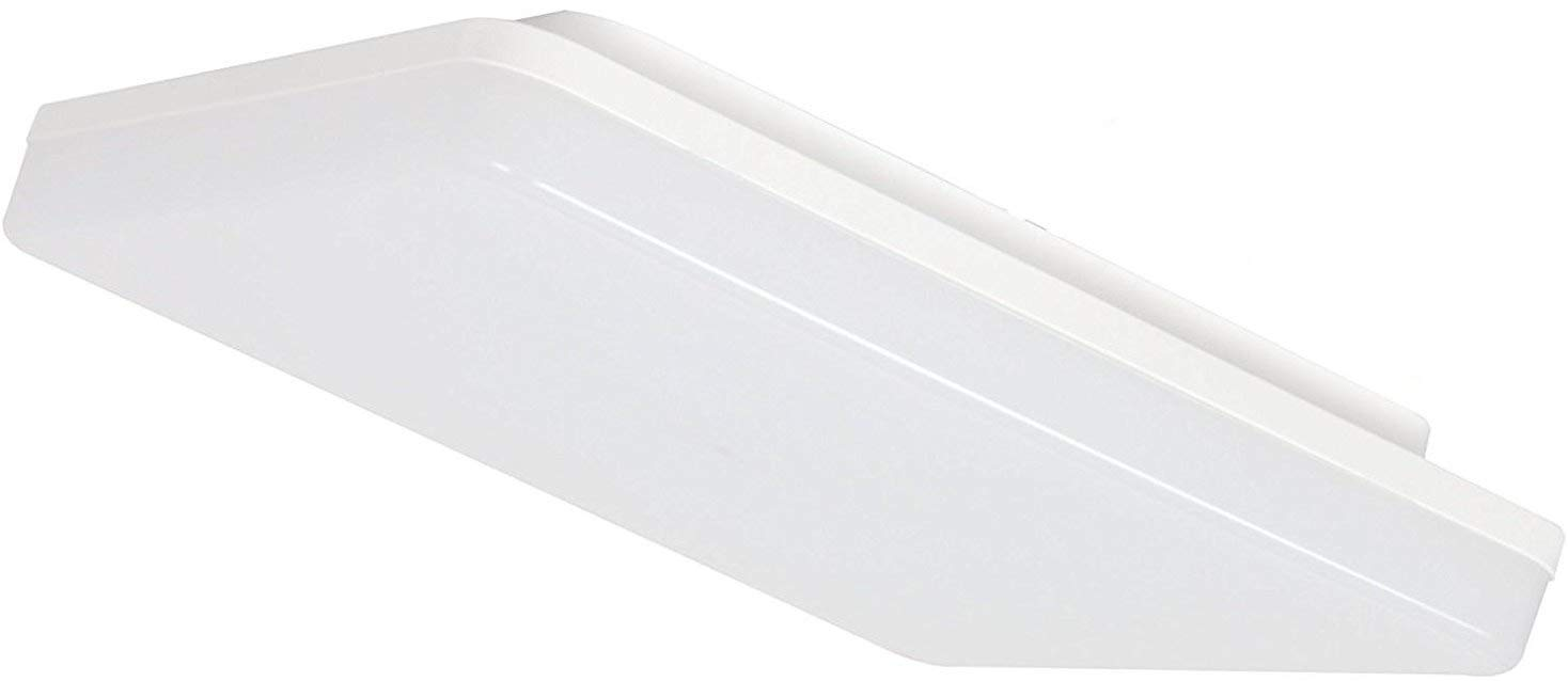 Ultra LED 15 W IP44 Mounting Square Wet room panel ceiling light 230 V LED [4000 K] [Energy Class A+] HAVA