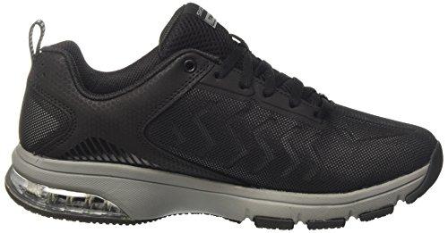 Air Degree Skechers Black Nero Grey Uomo Sneaker Skech zx5w4H
