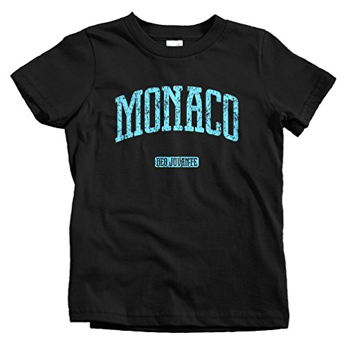 Smash Vintage Kids Monaco T-Shirt - Black, Youth X-Large (Grand Royale Poker)