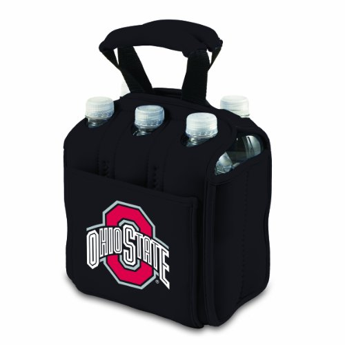 NCAA Ohio State Buckeyes Six Pack Cooler Tote -