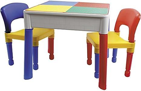 COLEPROFE Mesa 3 en 1 con 2 sillas: Amazon.es: Juguetes y juegos
