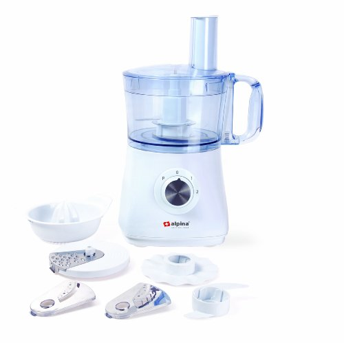 Alpina SF-4018 Multi-Function Food Processor with Citrus Juicer for 220/240 Volt Countries (Not for USA)