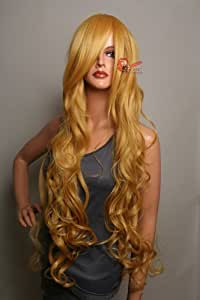 Epic Cosplay Hera Autumn Gold Curly Wig 38 Inches(25AG)
