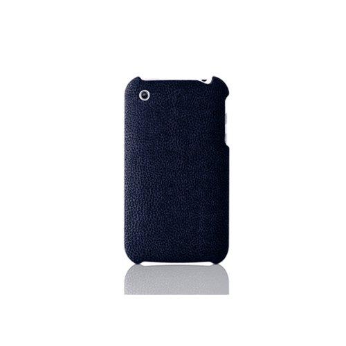 InvisibleShield Katinkas Doeskin harte Tasche für Apple iPhone 3G blau