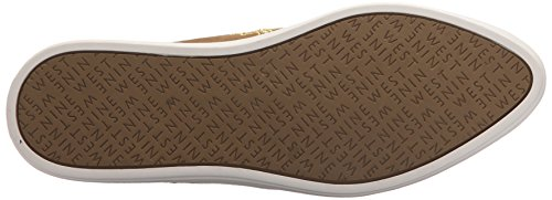 Nine West Womens Shakail Fabric Loafer Flat Green Fabric XHAE1