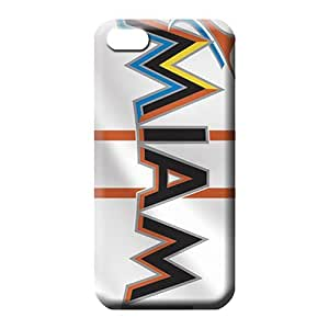 diy zhengiPhone 6 Plus Case 5.5 Inch Popular With Nice Appearance Awesome Look phone back shell miami marlins mlb baseball