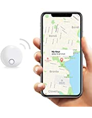 Safedome SD Mini Bluetooth Tracker, Smart Finder for Lost Keys, Wallets, Purses, and Bags. Small Bluetooth Phone Tracking Device with Replaceable Batt