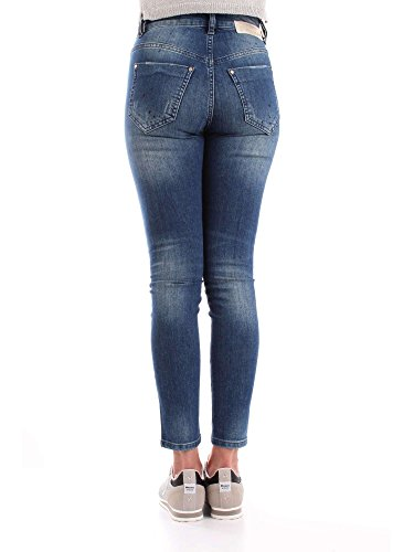 Algodon Mangano P18pmng00134denim Jeans Mujer Azul 7gY6wUqY