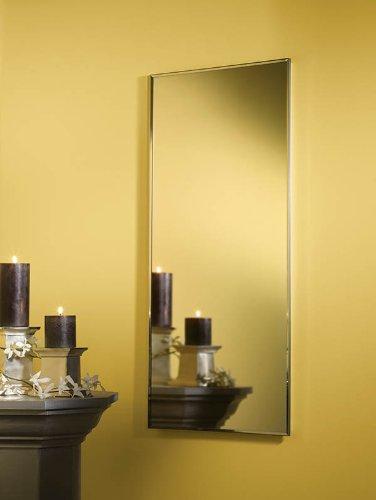 Metal Medicine Cabinet Framed (Jensen 84024CHG Basic Styleline Recessed Mount Medicine Cabinet)