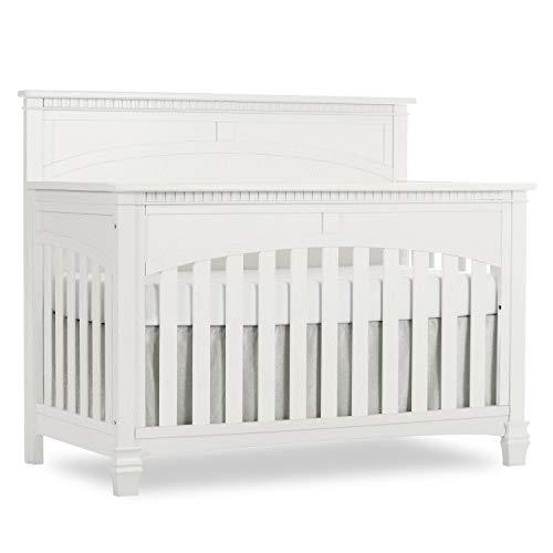 (Evolur Santa Fe 5 in 1 Convertible Crib, Brush White)