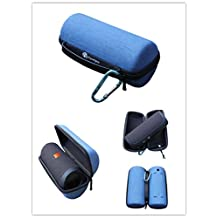 Junsi Blue Travel Carry Case Cover Pouch for JBL Flip 3 III Portable Bluetooth Speaker