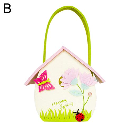 ywbtuechars Easter Day Cute Cartoon Butterfly Ladybug Candy
