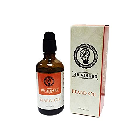 Mr Singhs Beard Oil - Beard Conditioning Oil- A Beard Softener and Deep Conditioner For