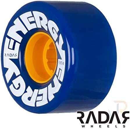 Radar Wheels – Energy 57 – Roller Skate Wheels – 4 Pack of 78A 31mm x 57mm Quad Skate Wheels