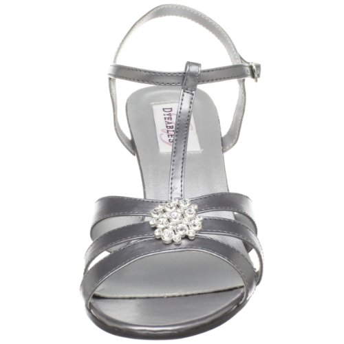 Opal Women's Ankle Pewter Metallic Dyeables Strap pCU80q