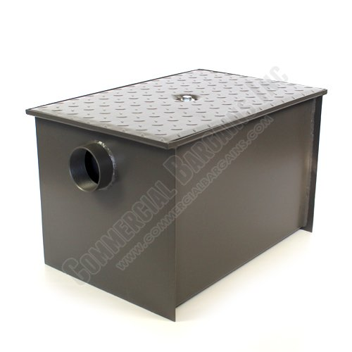 WentWorth 40 Pound Grease Trap Interceptor 20 GPM Gallons Per Minute WP-GT-20 by Wentworth (Image #2)