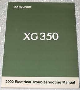 2002 hyundai xg350 service repair manual software