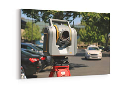 Camera Car Scanner and Tripod - Canvas Wall Art Gallery Wrapped 26