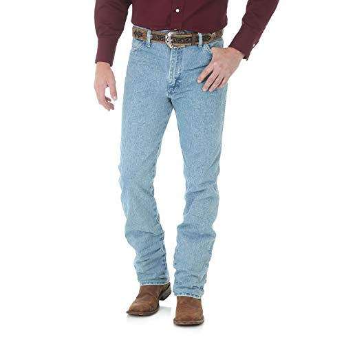 Wrangler Men's Cowboy Cut Slim Fit Jean, Antique Wash, ()