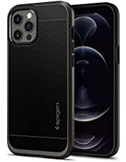 Spigen Neo Hybrid Designed for iPhone 12 Pro Max Case (2020) - Gunmetal