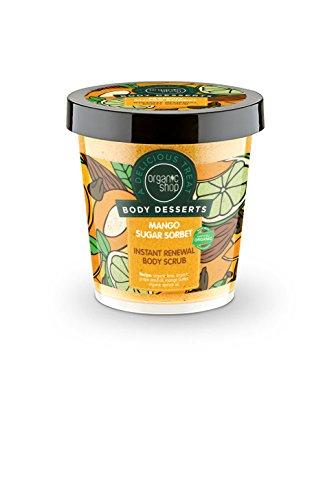 - Organic Shop Body desserts Mango Sugar Sorbet Body Scrub 450ml