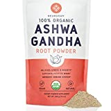 Neurogan Organic Ashwagandha Root Powder (1 lb) - 100% Raw from India & USDA Organic - All Natural Superfood for Improved Mood, Vitality, Adrenal Health & Anxiety Relief - Vegan, Non-GMO, Gluten-Free