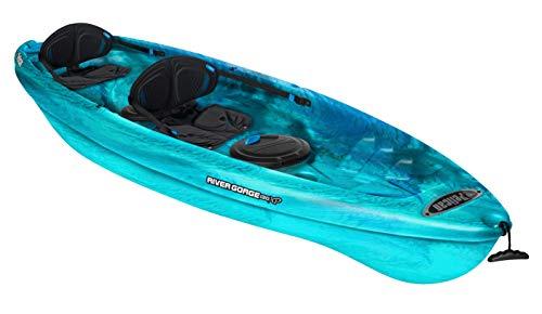 Pelican Tandem Recreationnal Kayak | River Gorge 130X Tandem, 13...