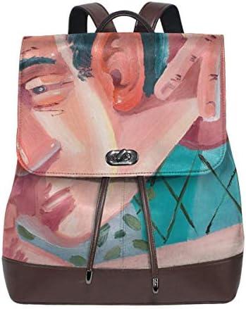 ホワイトサン リュックサック レディース メンズステア バックパック バッグ リュック PUレザー 鞄