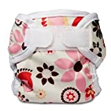 Bummis Super Whisper Wrap Diaper Cover - Made from polyester with a PUL layer; Includes hook and loop closures