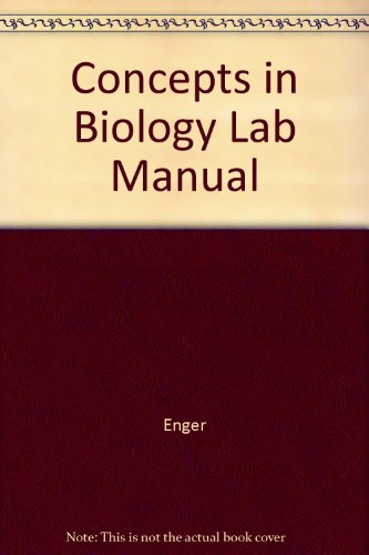 Concepts in Biology Lab Manual