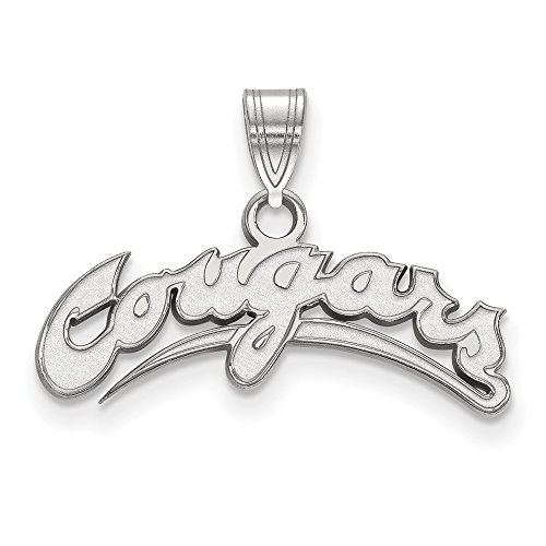 925 Sterling Silver Officially Licensed Washington State Small Pendant (Necklace Genuine Mlb)
